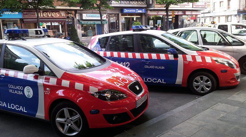 coche patrulla villalba