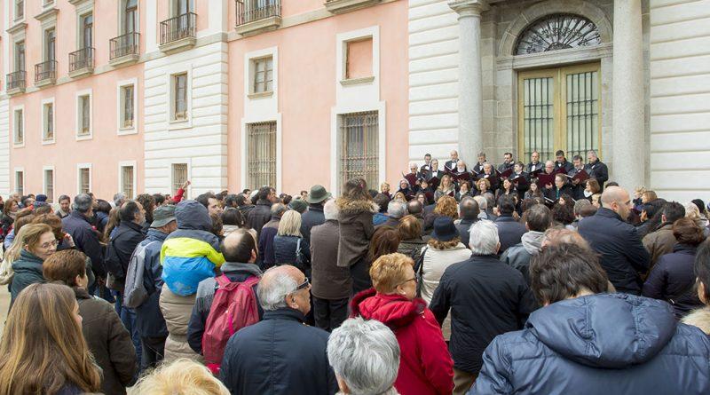 inauguración jardines del Infante Don Luis
