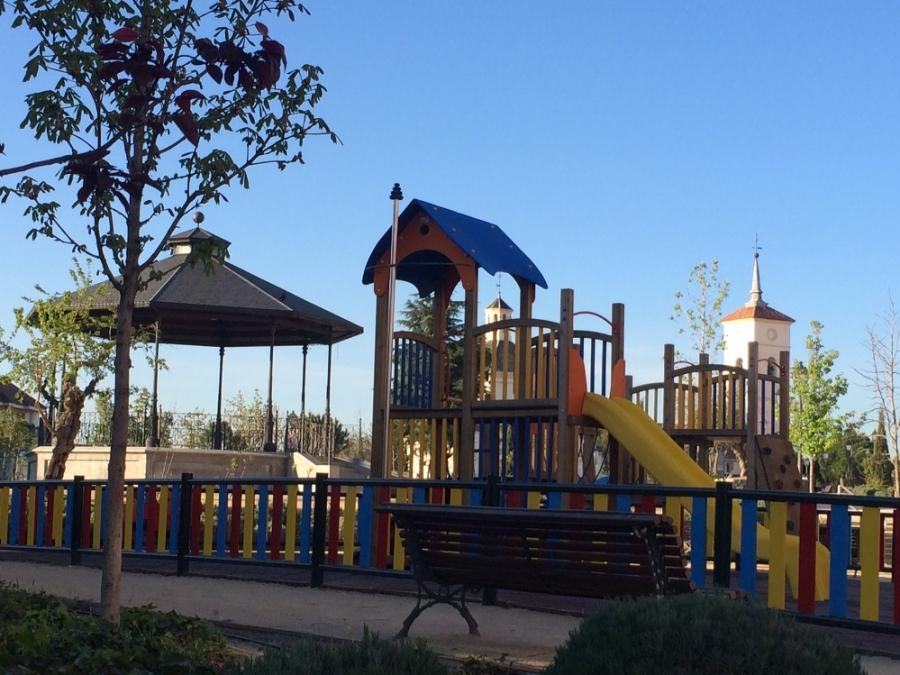 majadahonda remodelación zonas infantiles