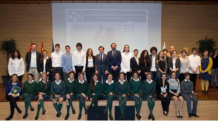 Torneo Intermunicipal de Debate Escolar Las Rozas
