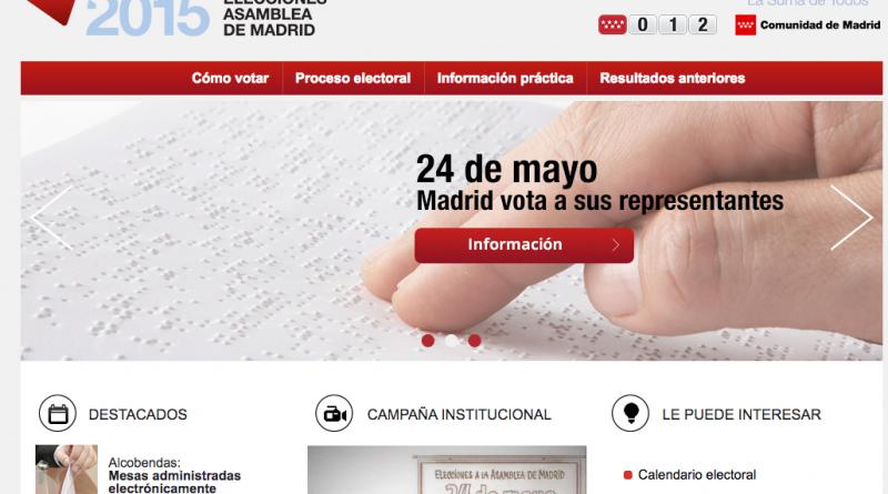 portal elecciones madrid