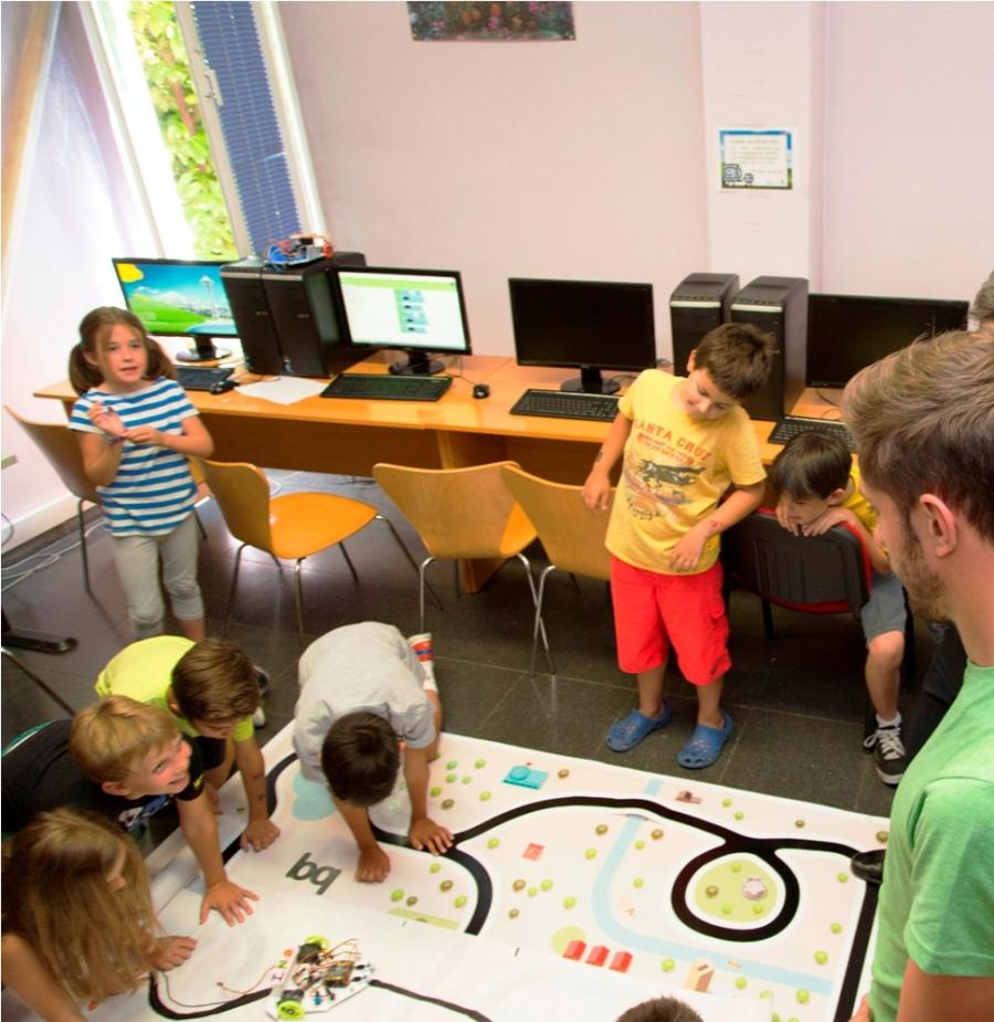 escuela de verano tecnología majadahonda