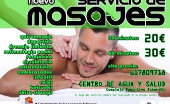 servicio masajes san lorenzo de el escorial