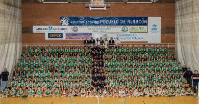 presentación anual club baloncesto pozuelo de alarcón