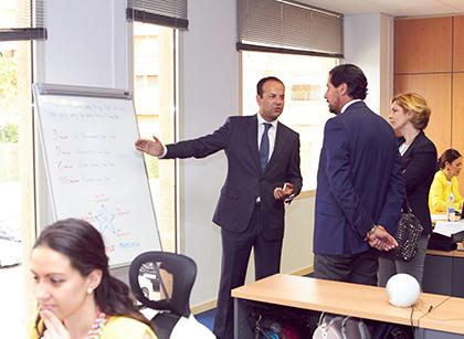 nueva sede FCM travel solutions las rozas