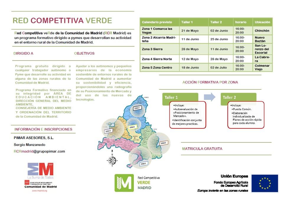 curso gratuito autónomos medio ambiente san lorenzo