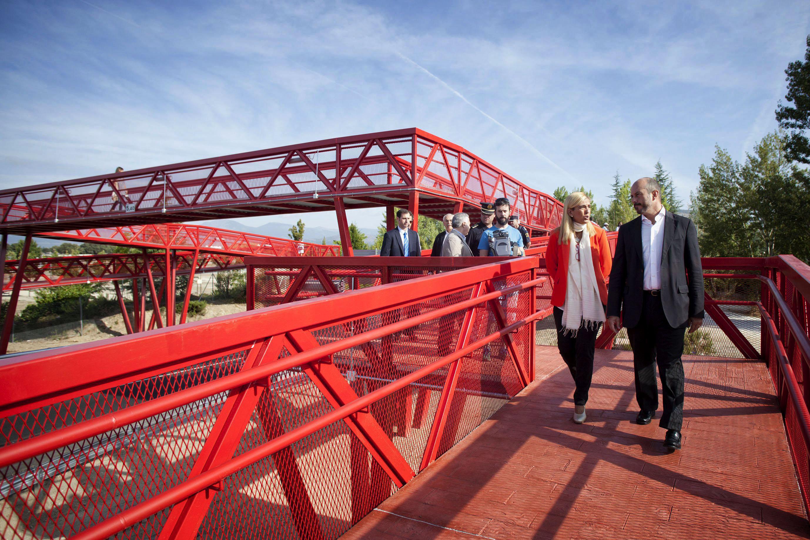 nuevas infraestructuras para mejorar la seguridad vial madrid