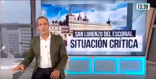 reportajes telemadrid cierre salas monasterio san lorenzo