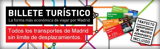 tarjeta transporte turístico madrid