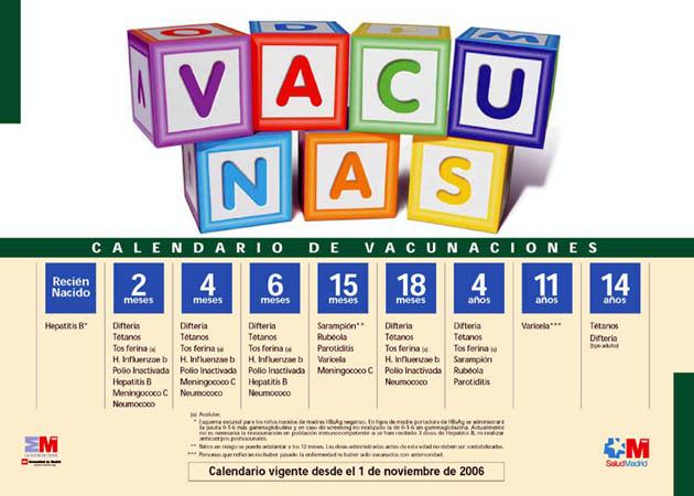 Calendario De Vacunas Infantil.La Comunidad Destina 19 Millones A La Adquisicion De Vacunas