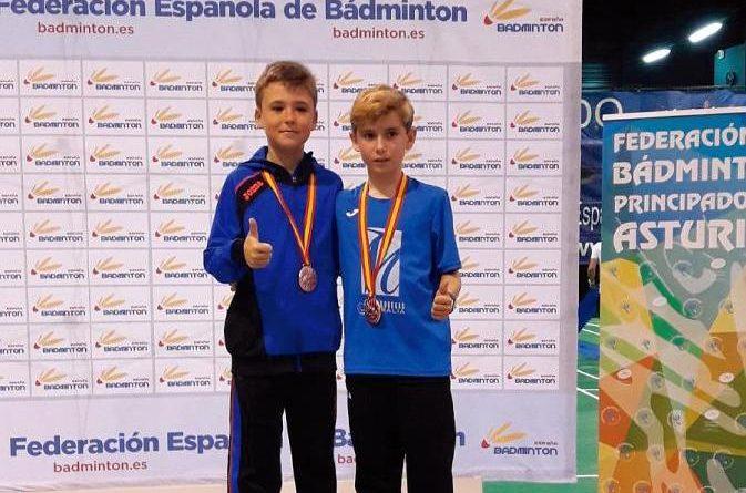 Alejandro Sanz bronce en el Campeonato de España de badmintón