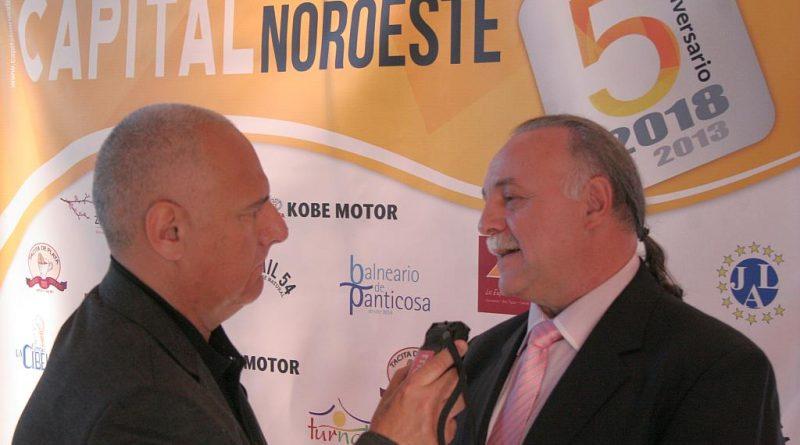 5º Aniversario de Capital Noroeste. Chema Puente entrevista en Radio 5 RNE a Chema Bueno director del periódico Capital Noroeste