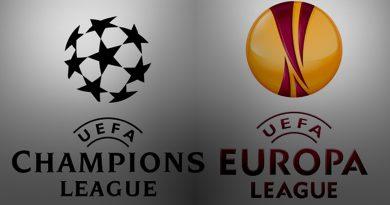 Finales de UEFA y CHAMPIONS LEAGUE en pantalla gigante