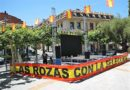 El ayuntamiento de Las Rozas instala una  pantalla gigante en la plaza de España de Las Rozas para seguir los partidos de la Roja.
