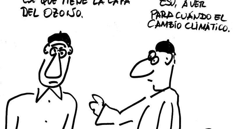 Manolo Royo viñeta 2018 junio