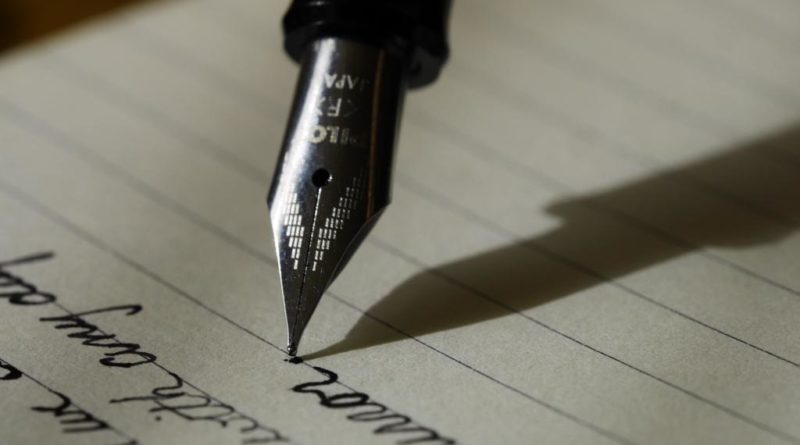 Escribir a dedo