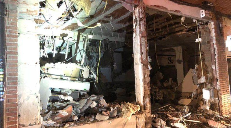 Explosión en un restaurante chino de Pozuelo