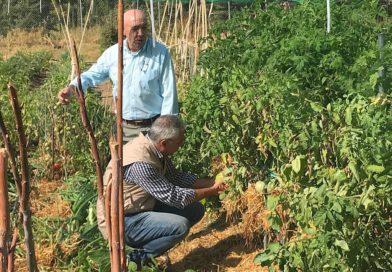 Carlos Izquierdo visita 'Agrolab' El Escorial