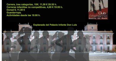 Carrera Nocturna Solidaria en Boadilla del Monte este viernes