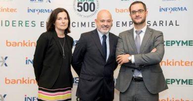 María Sánchez, Directora de Recursos Humanos, Jorge Matilla, Cosejero Delegado y Luis Santamaría, Director de Desarrollo de Negocio.