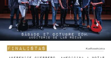 Cartel de 'Las Rozas Acústica' 2018.