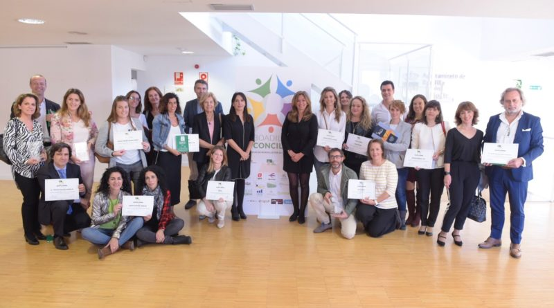 Entrega de premios 'Empresa Conciliadora'.