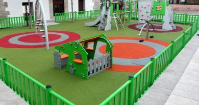 Nuevos parques infantiles en Galapagar.