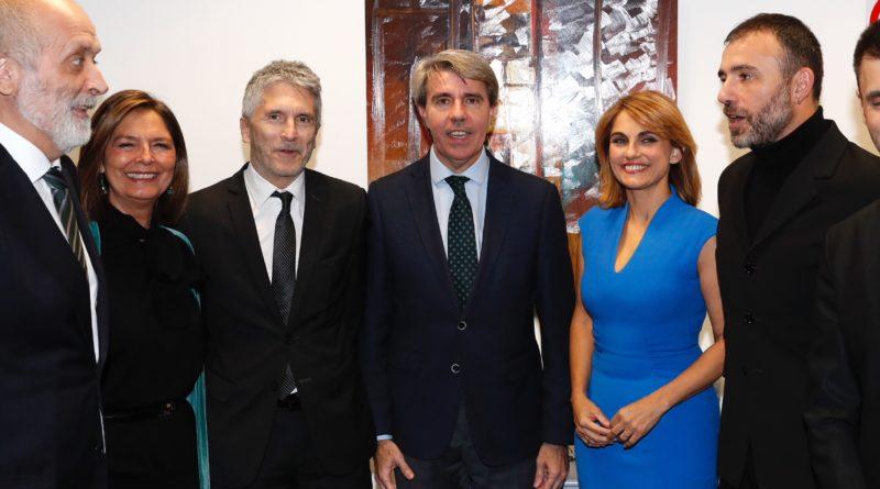 El presidente de la Comunidad de Madrid, Ángel Garrido, en el estreno de 'El relato del silencio. La historia del terrorismo en Madrid'.
