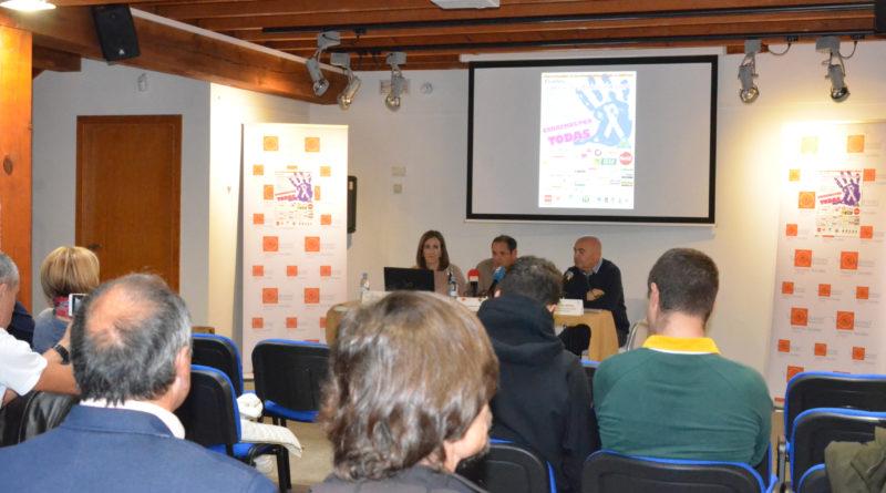 Presentación de la II Carrera contra la Violencia de Género en el Museo de Esquí de Cercedilla.