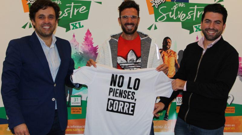 El atleta Chema Martínez, en la presentación de la San Silvestre XL.
