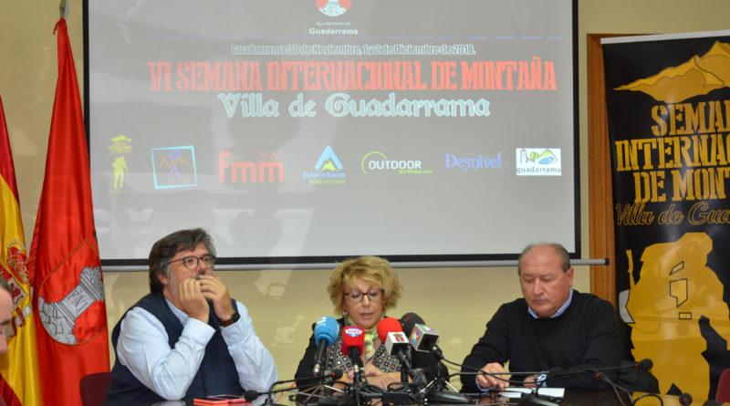Presentación de la VI Semana de Montaña de Guadarrama.
