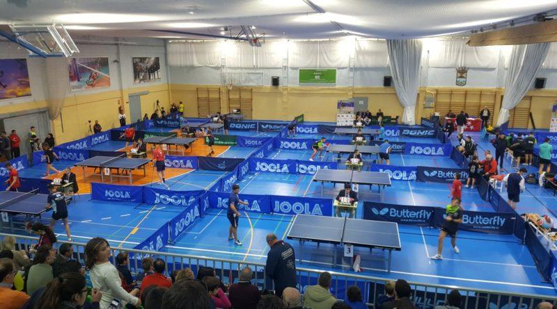 Torneo Zonal de Tenis de Mesa en Collado Mediano.