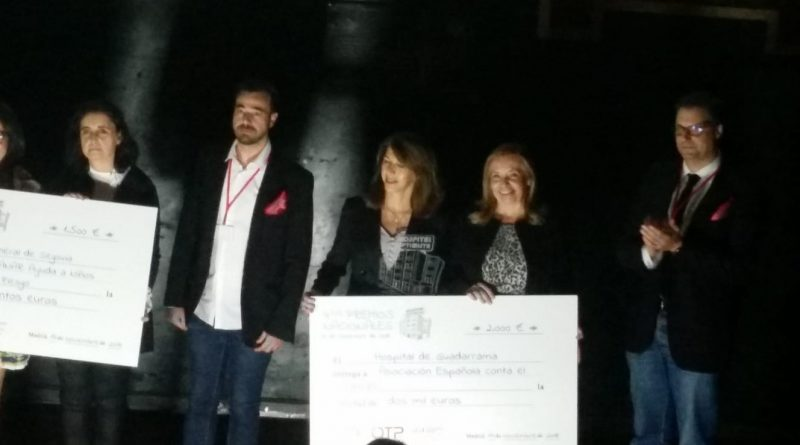 Ganadores de los Premios Hospital Optimista.