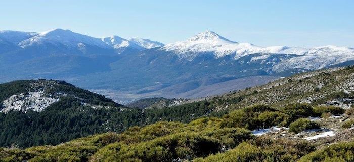 El Parque Nacional de Sierra de Guadarrama.