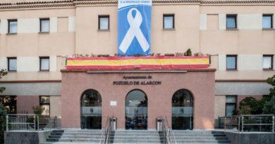 El Ayuntamiento de Pozuelo de Alarcón muestra su apoyo a la lucha contra la violencia de género.