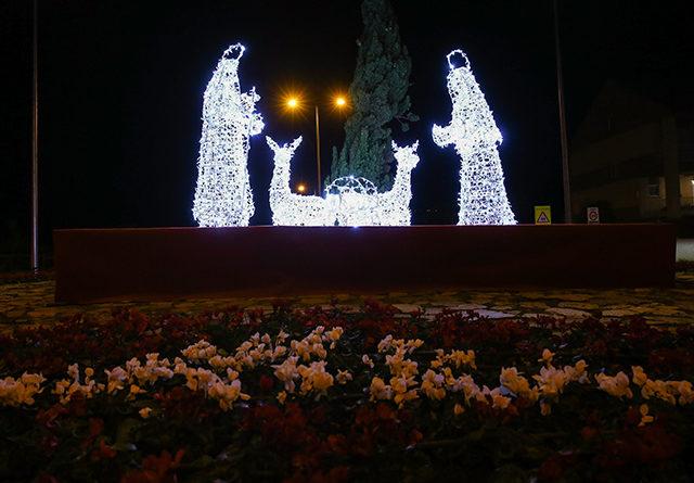 Las Rozas se viste de Navidad con el encendido de luces y el Nacimiento