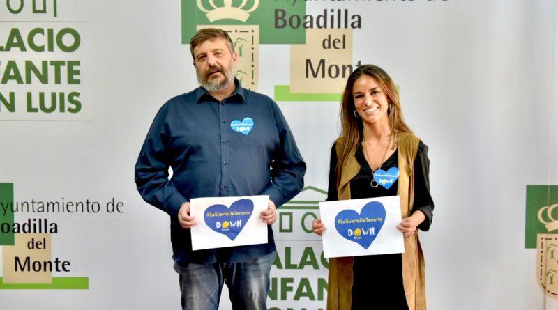 Boadilla promueve la campaña 'La suerte de tenerte' de Down España
