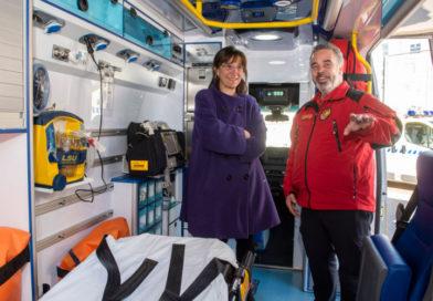 Pozuelo renueva una de las ambulancias del Servicio Municipal de Emergencias