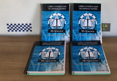 La Policía Local de Galapagar cuenta con 25 nuevos libros de codificación de infracciones de tráfico