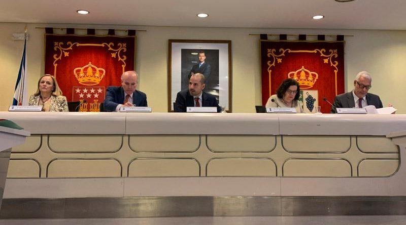 Celebración del Pleno Municipal.