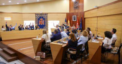 Celebración del Pleno de Las Rozas.