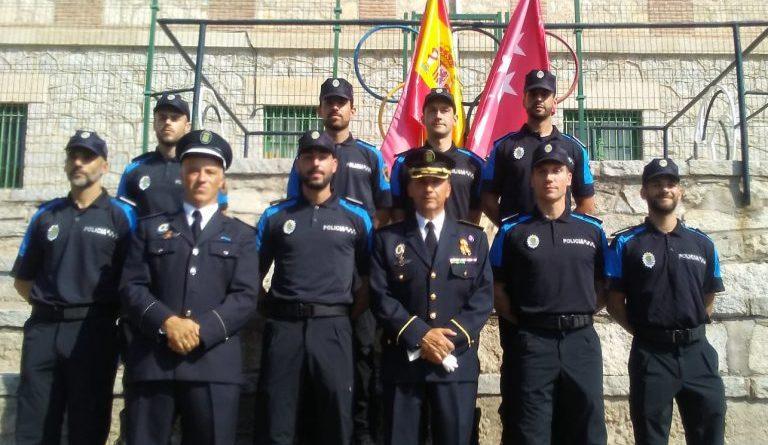 Los nuevos agentes de la Policía Local de Galapagar.