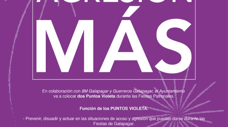 Cartel de la campaña de Galapagar con motivo de las Fiestas Patronales.