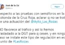 El alcalde de Las Rozas muestra su rechazo a la instalación de un semáforo en la rotonda de la Cruz Roja