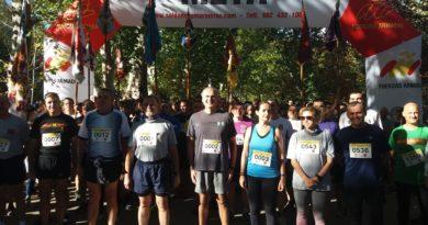 4.000 corredores en la carrera Cívico-Militar contra la droga