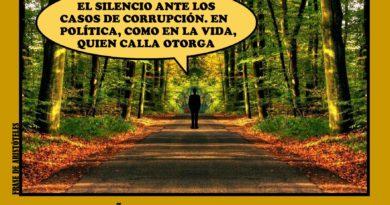 El hombre es dueño de sus silencios y esclavo de sus palabras