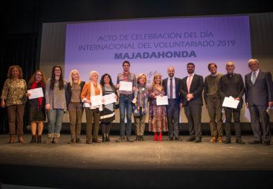 Homenaje institucional a los voluntarios del municipio