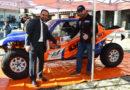 """El piloto guadarrameño Rubén Gracia presenta en Guadarrama al equipo del """"GPR Sport"""" con el que afrontará el rally Dakar 2020"""