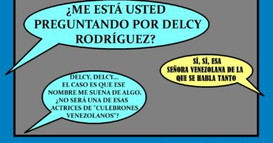 ¿Alguien ha visto a Delcy Eloína Rodríguez Díaz?