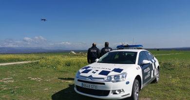 El Ayuntamiento de Las Rozas pone en servicio un dron para  que controle que se cumplan las medidas de confinamiento por coronavirus